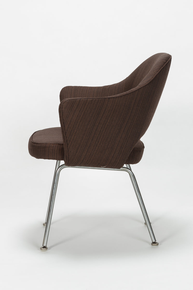 Eero Saarinen Executive Chair Salt and Pepper Knoll International, 60er