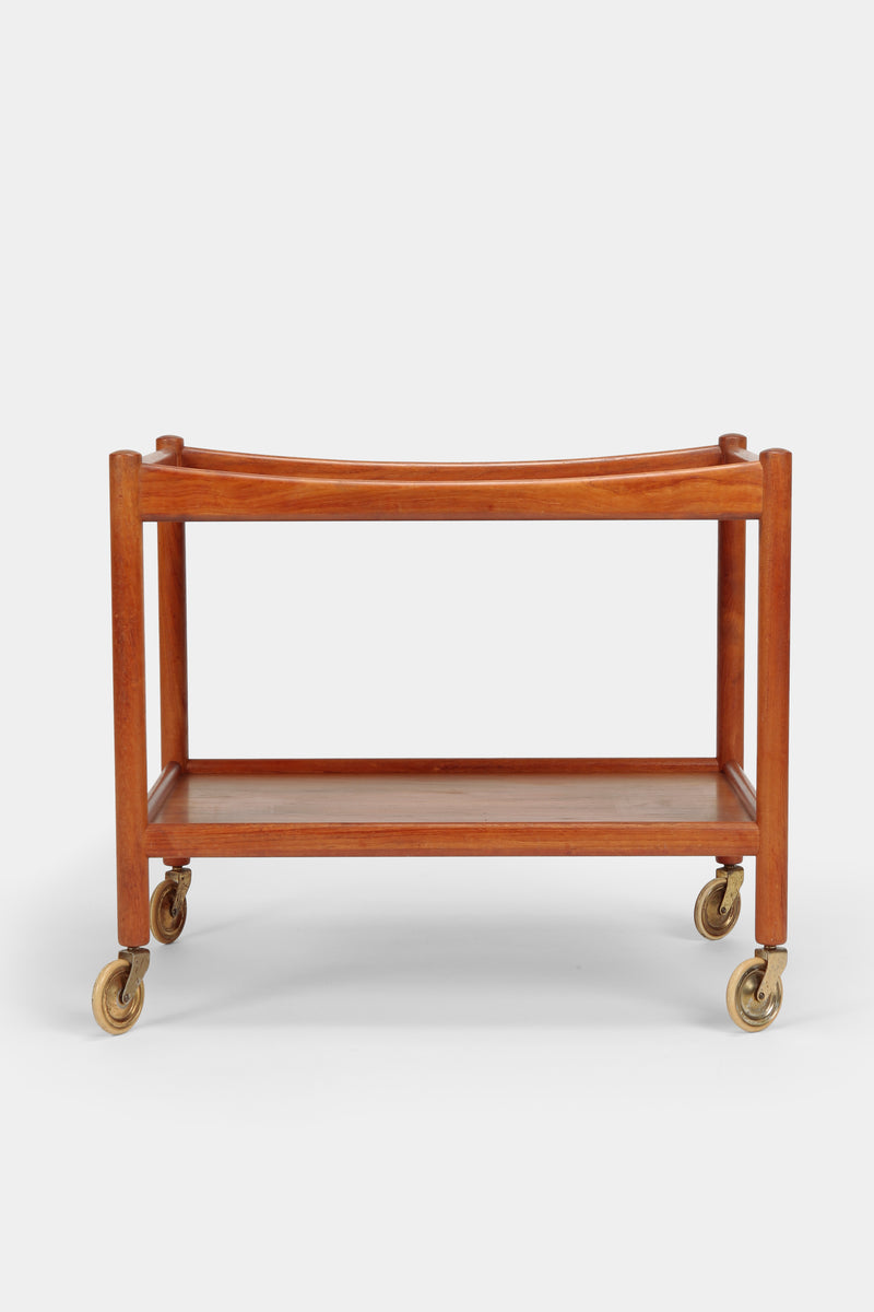 Hans Wegner Serving Trolley, Andreas Tuck 45, teak wood, 50s