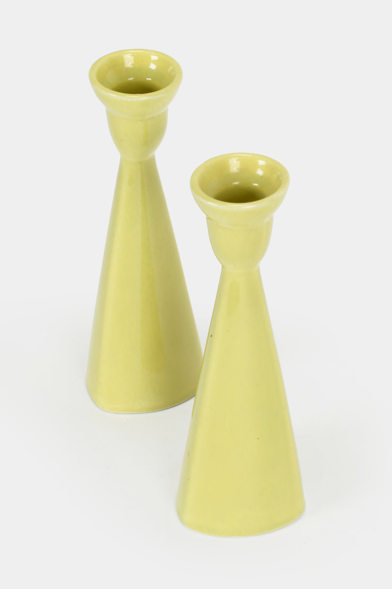 Two Upsala Ekeby Wilhelm Kåge by Berit Ternell Candle holders