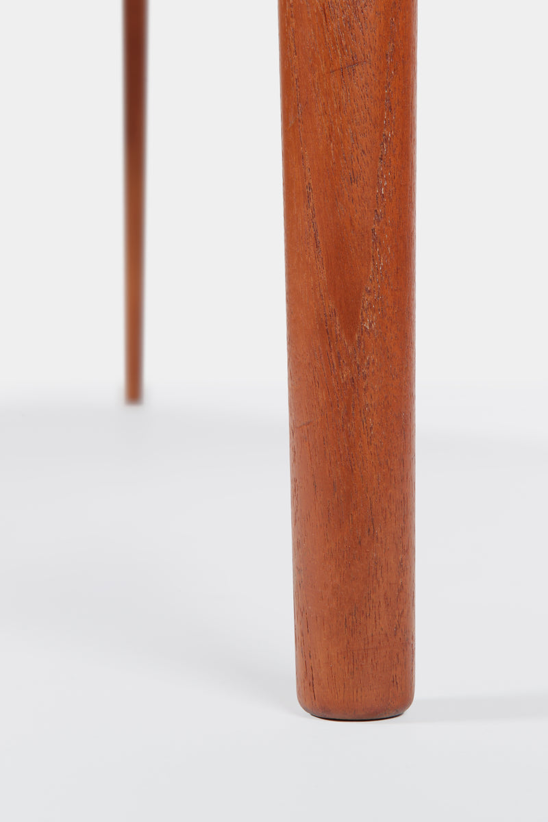 H.W. Klein club table Teak Bramin Denmark 60s
