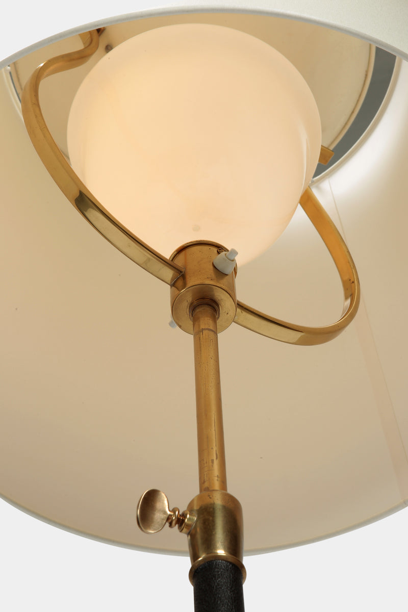 Set with 2 AMBA floor lamps brass 40s