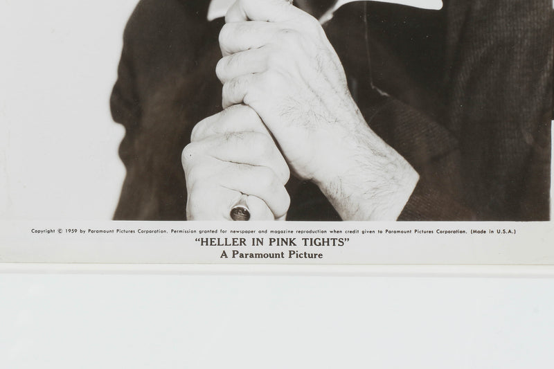 "Filmfoto ""Heller in Pink Tights"", Anthony Quinn, 1960"