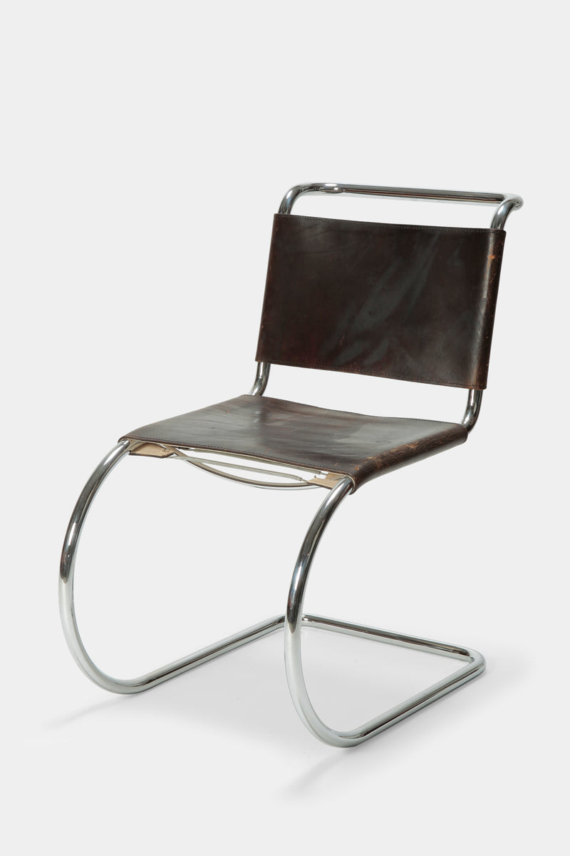 6 Mies van der Rohe Cantilever Chairs Knoll, 70s