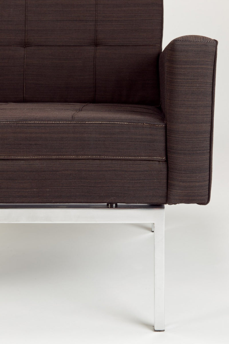 Ein Paar Knoll Lounge Sessel von Florence Knoll