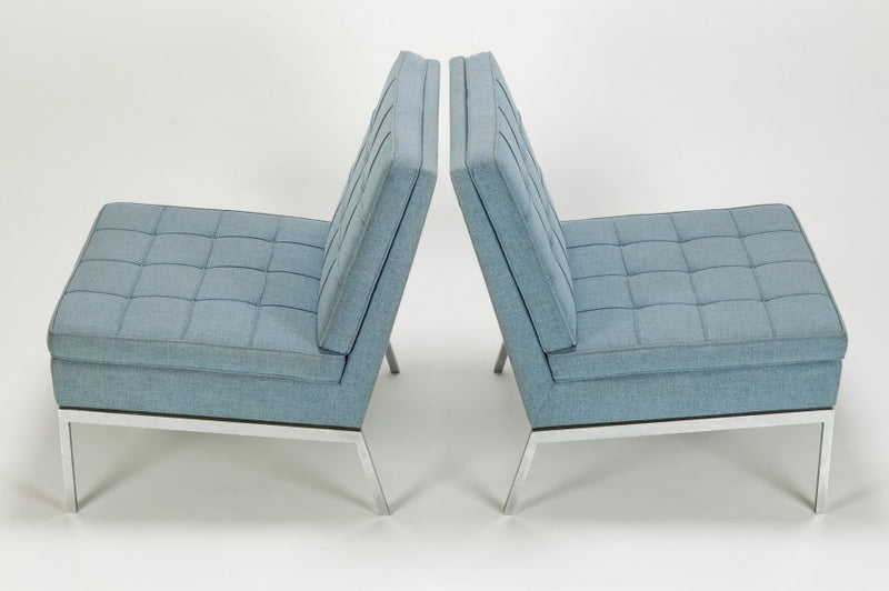 Ein Paar Florence Knoll Sessel von Florence Knoll