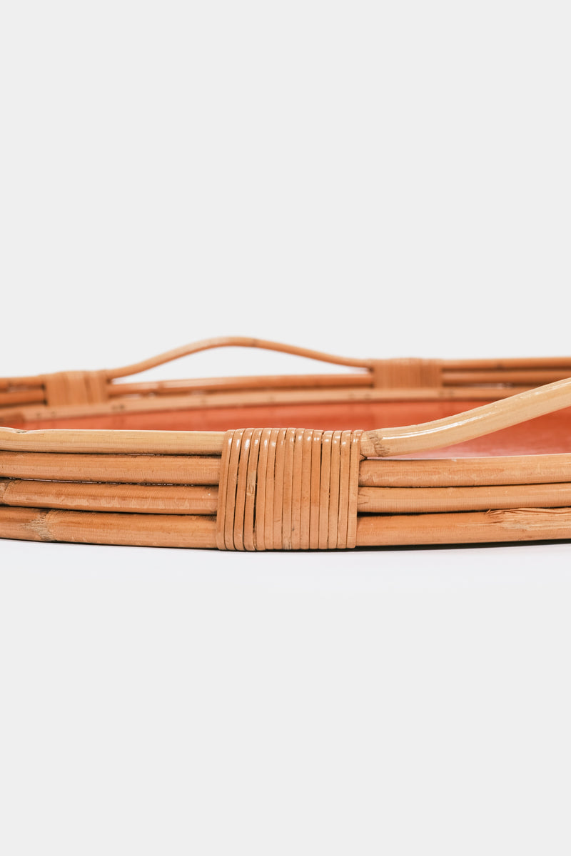 Danish bamboo tray 50s