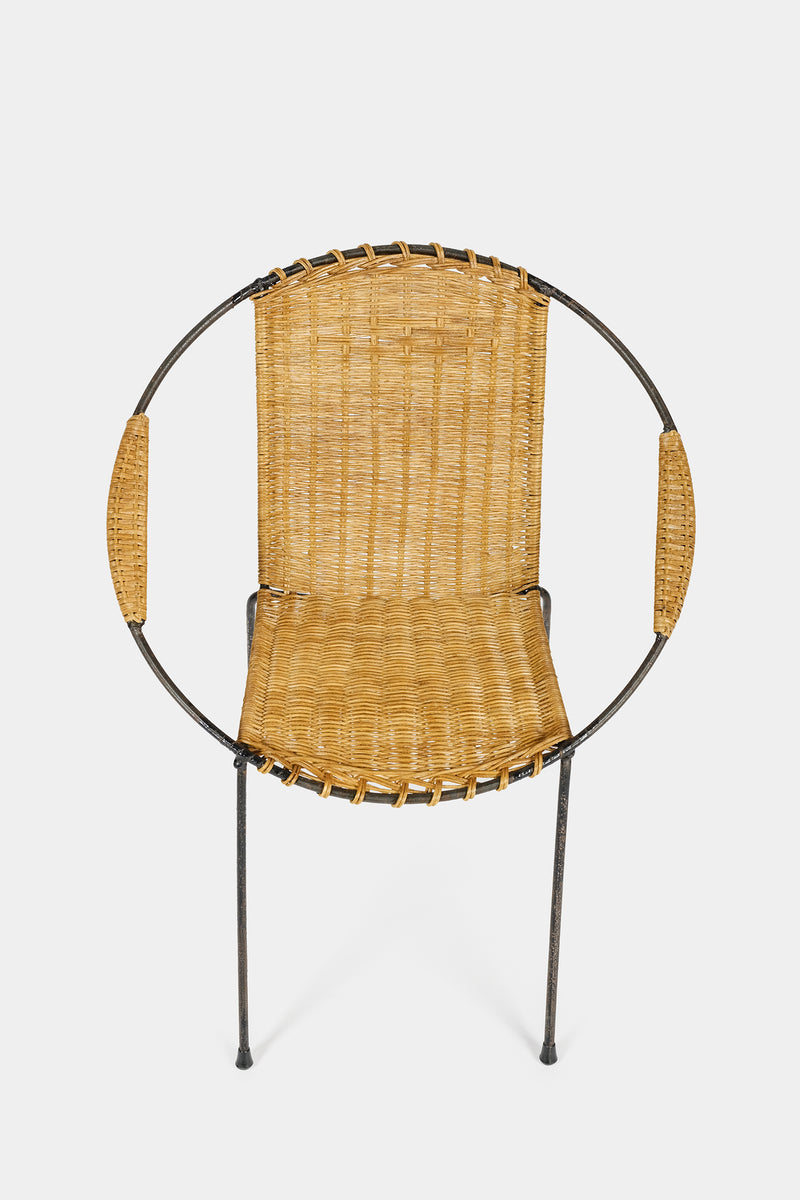 Kinder Circle Chair Frankreich 50er