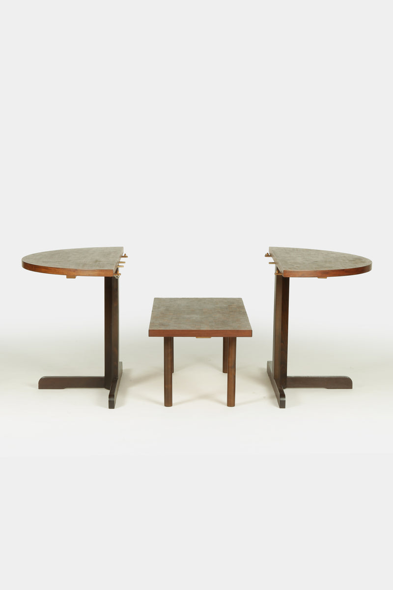 Multifunctional DW Table with Club Table, 60s