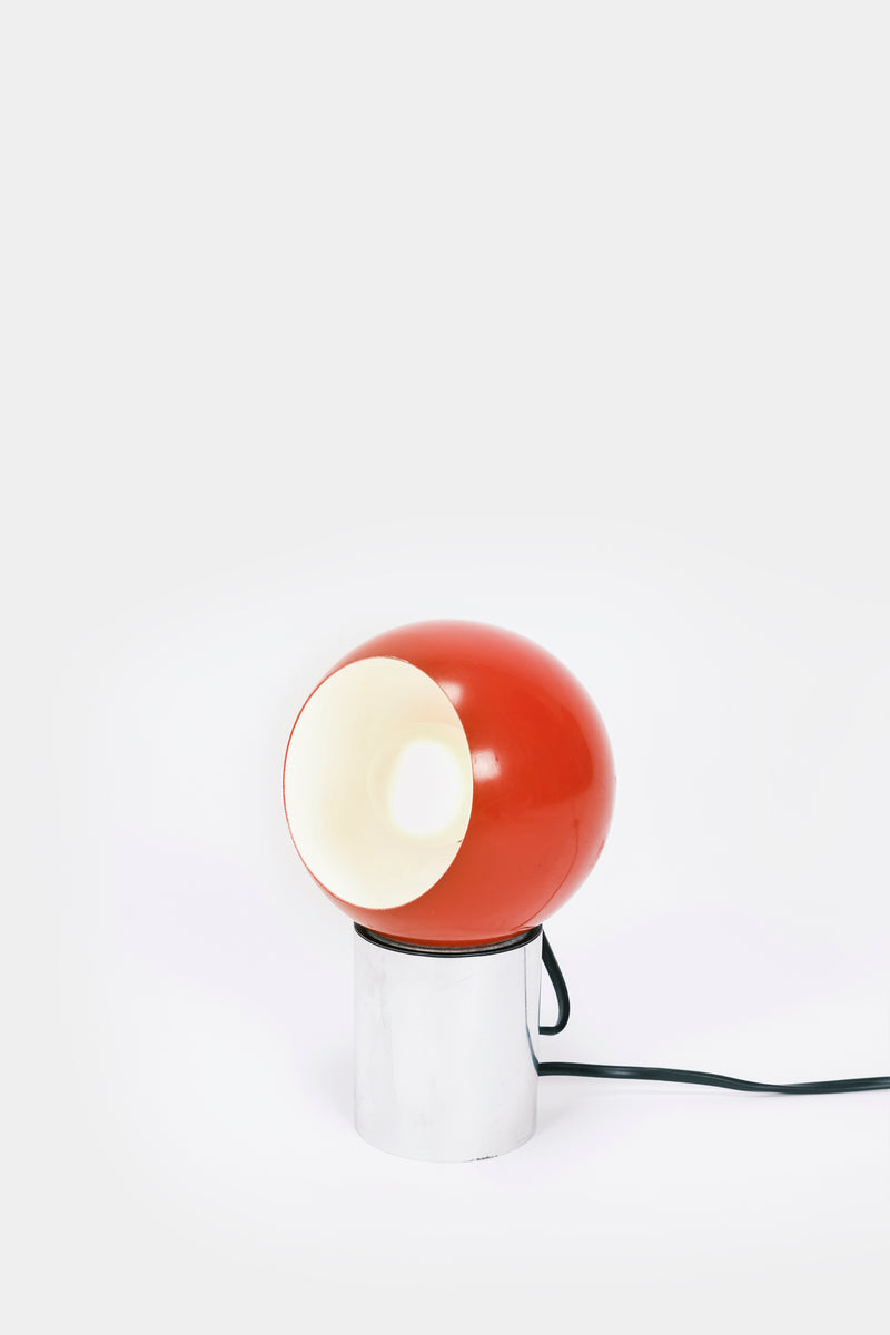 Small table lamp-red Italy