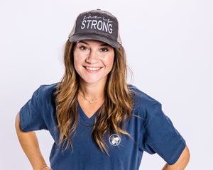 she is STRONG - HAT