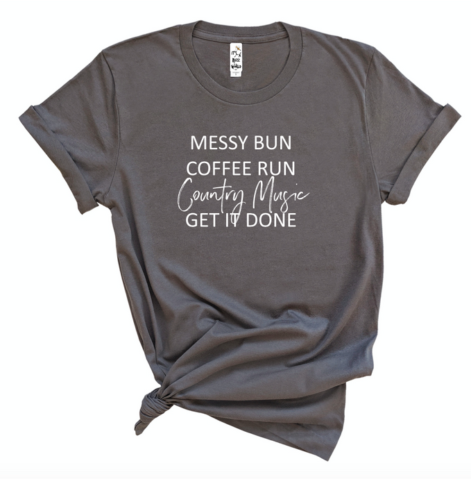 Coffee & Country Music (Unisex Crew)