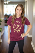 Load image into Gallery viewer, #LazyDay (Unisex Crew)