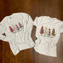 Load image into Gallery viewer, Merry Christmas Trees (Unisex Tee)