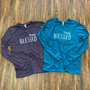 Simply Blessed (Unisex Long Sleeve)
