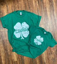 Load image into Gallery viewer, Lucky - Clover Tee (Unisex Crew)