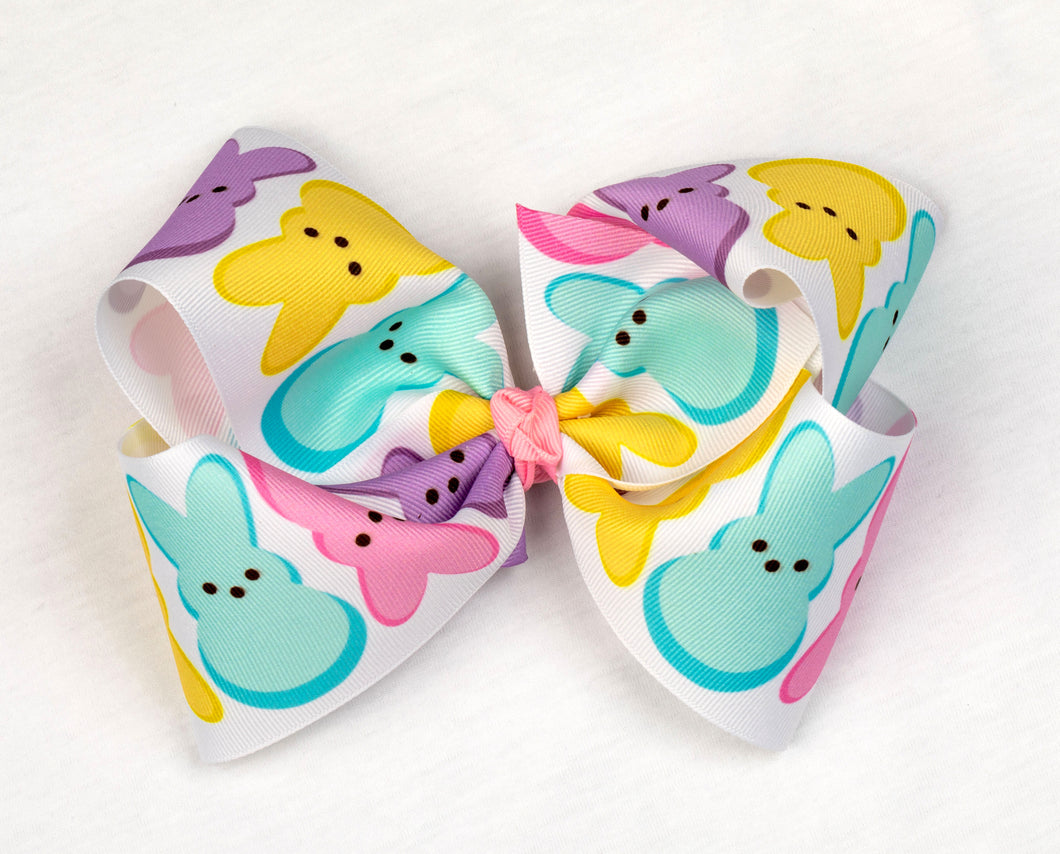 Easter Peeps Hair Bow