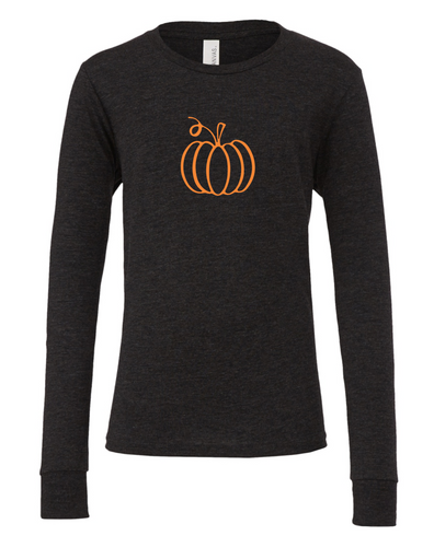Pumpkin Outline (Long Sleeve)