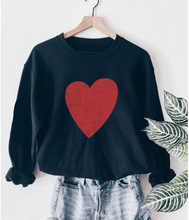 Load image into Gallery viewer, Heart Sweatshirt