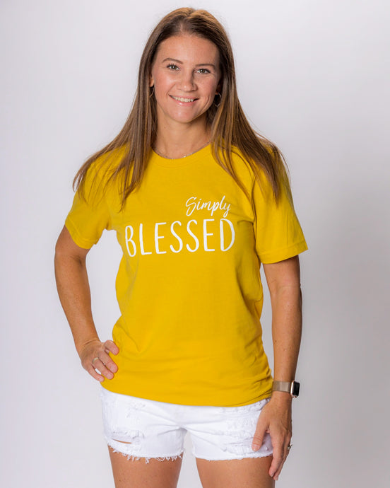 Simply Blessed - Mustard