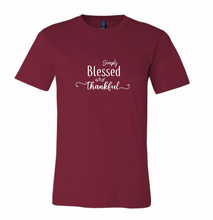 Load image into Gallery viewer, Simply Blessed & Thankful (Unisex Crew)