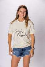 Load image into Gallery viewer, Simply Blessed *NEW* (Beige Unisex Crew)