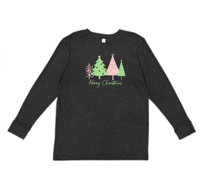 Merry Christmas Tee (Toddler / Youth)