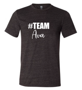 #Team Ava (Short Sleeve Crew)