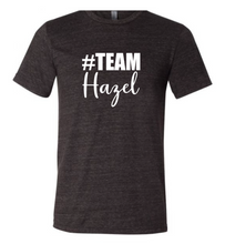 Load image into Gallery viewer, #Team Hazel (Short Sleeve Crew)