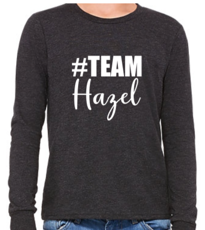 #Team Hazel (Youth Long Sleeve)