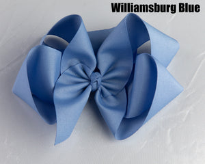 Busby Girls  Hair Bow (6 inches)