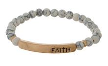 Load image into Gallery viewer, Faith - Beaded Bracelet