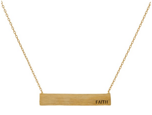 Faith - Necklace