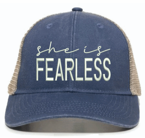 she is FEARLESS - HAT