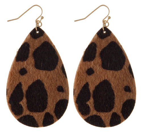 RI Animal Print Earrings