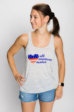 All American Mama (Women's Racerback)