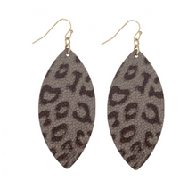 Load image into Gallery viewer, RI Animal Print Earrings