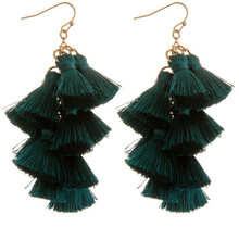 Load image into Gallery viewer, Tassel Drop Earrings