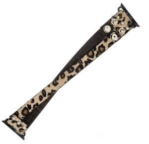 Apple Watch Leopard Band