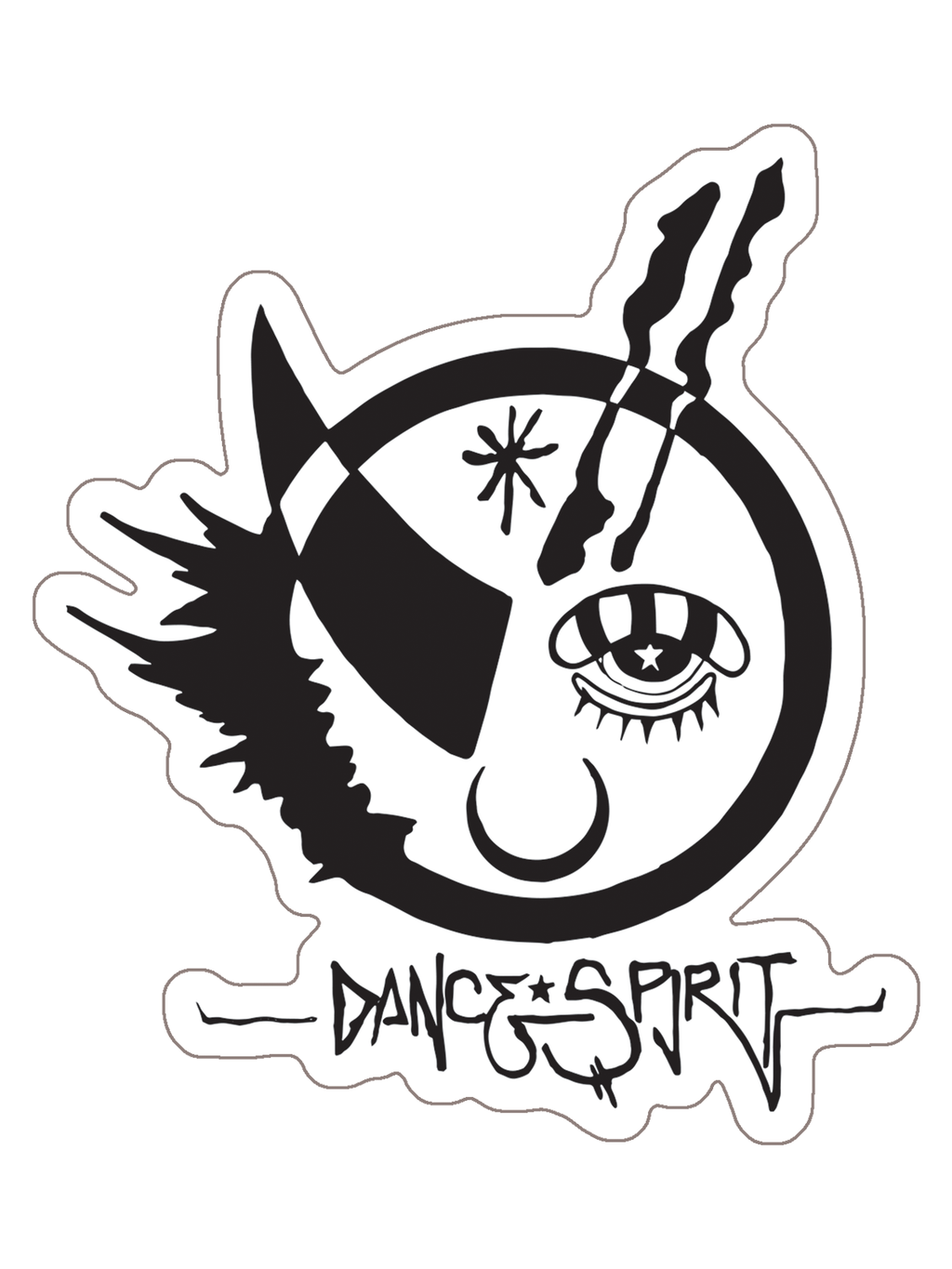 New Dance Spirit sticker designed by Christopher Mohn