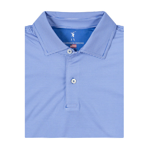 USA Mini Stripe Jersey Polo