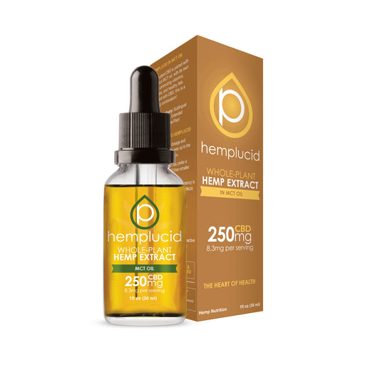 Hemp Extract MCT Oil 250mg