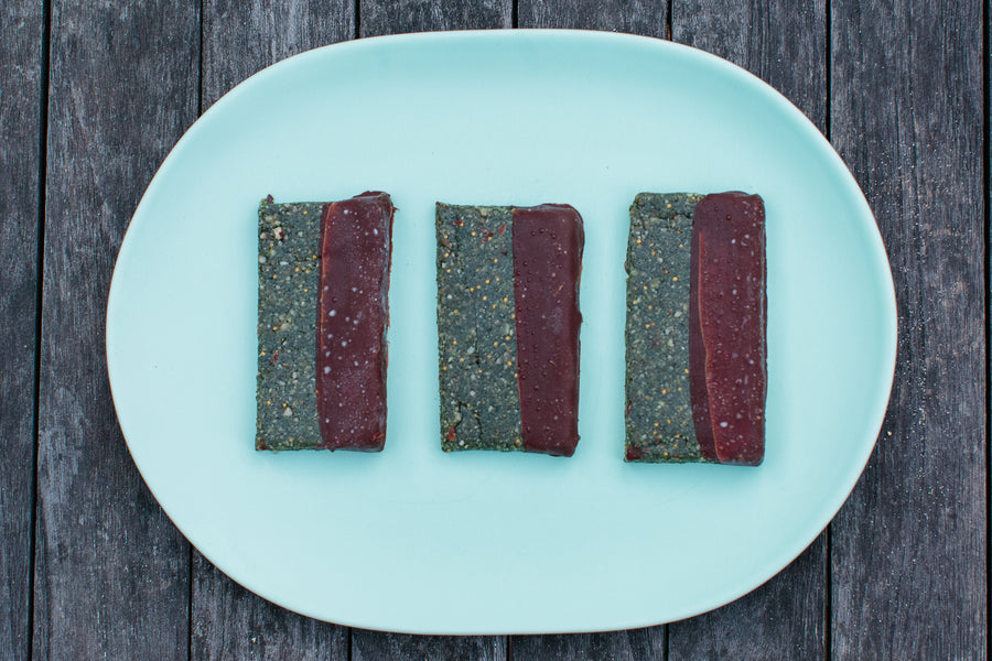FIG, COCONUT + SPIRULINA BARS