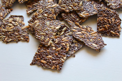 SIMPLEST SEEDED CRACKERS