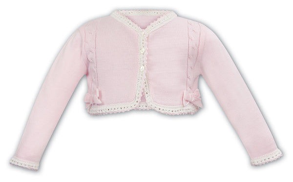 Knitted Bow Cardigan
