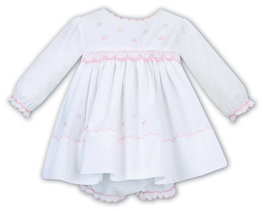 2PC Smocked Dress