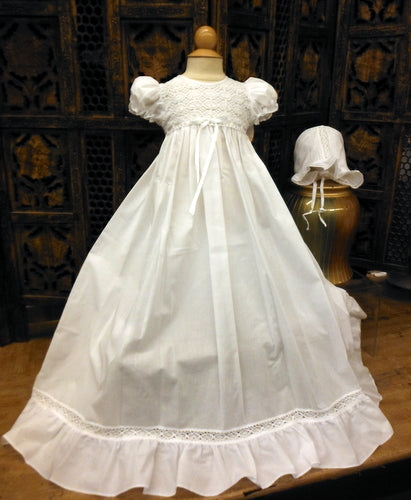 2PC CHRISTENING GOWN