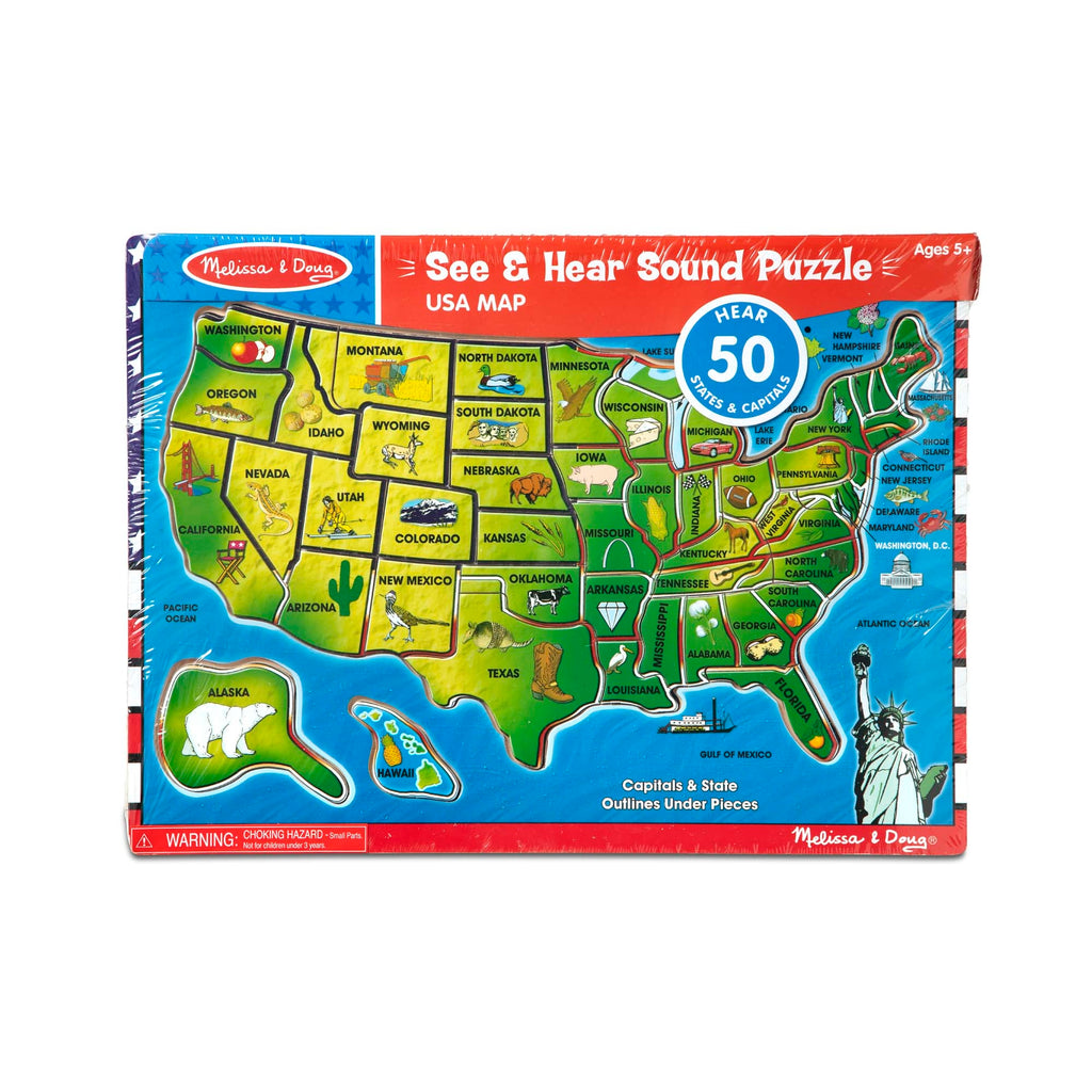 USA SEE & HEAR PUZZLE