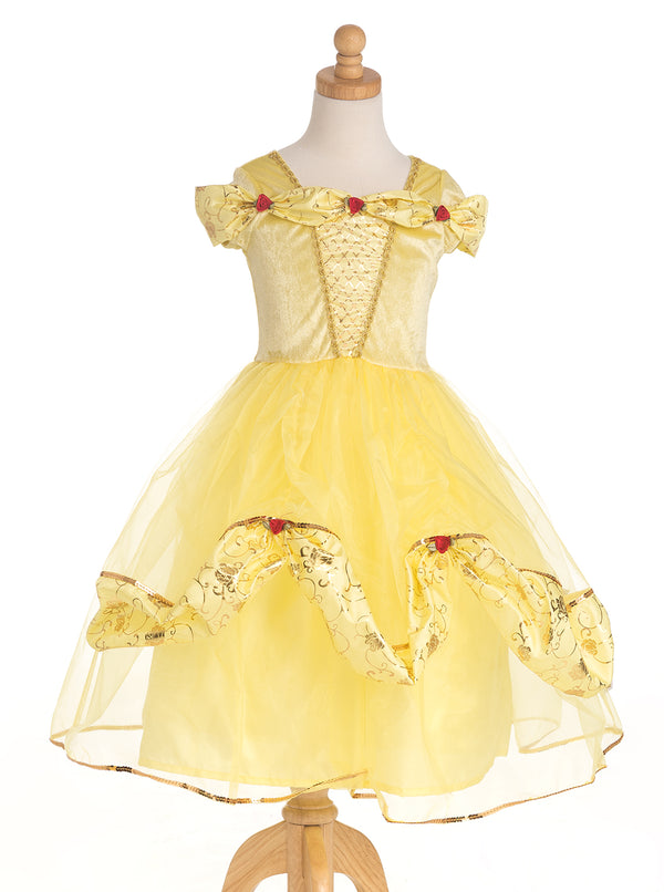 Deluxe Yellow Beauty Dress