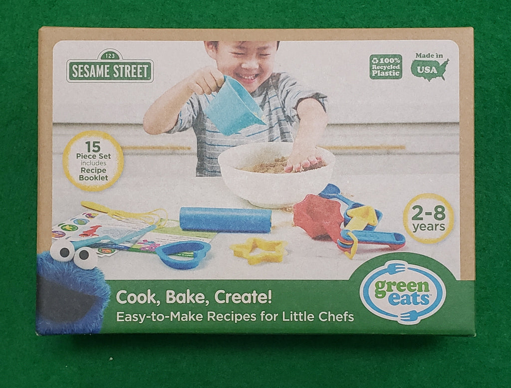 SESAME ST. COOK BAKE CREATE