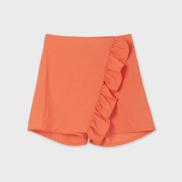 Girls Side Ruffle Skort